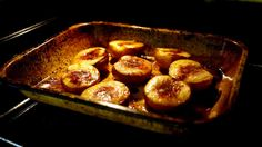 The Londoner » Honey Roast Peaches