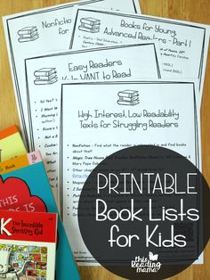 Are you headed to the library to grab somechildren's books? Maybe you're going shopping for a child's birthday or Christmas? Don't forget to take along my printable book lists for kids! Designed for easy printing, you'll have 10 of my most popular book lists for kids, from babies to 5th grade! *This post contains affiliate …