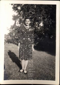A personal favorite from my Etsy shop https://www.etsy.com/listing/247333300/vintage-photo-woman-in-garden-on-sunny
