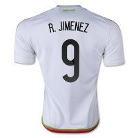 Mexico National Team 2015 R. JIMENEZ #9 Away Soccer Jersey [C333]