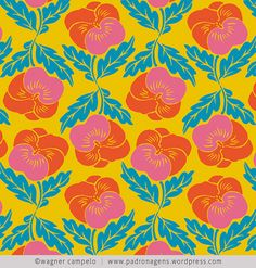 wallpaper... wagner campelo    I love pansies, whatever colors they are!