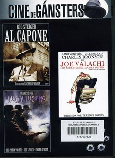 ESTIU-2013. Al Capone / Los secretos de la cosa nostra / Lucky Luciano. DVD INTRIGA WIL