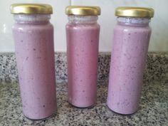 Iogurtes líquidos de frutos silvestres