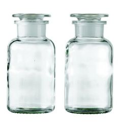 Apothecary Bottle -- Small (Set of - Design Within Reach - contemporary - bathroom storage - Design Within Reach