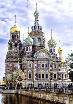 St. Petersburg, Russia - Visited in 2005 - The Resurrection Church of our Savior, also known as the Church on Spilled Blood.