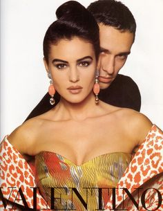 Valentino HC Spring 1991   with Monica Bellucci