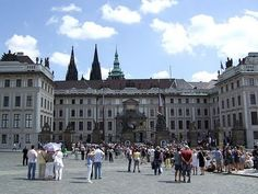 Prague Castle.  Been there.  Prague is a very interesting city of contrasts.