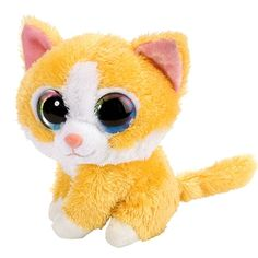 Rag Doll Cat Facts Butterscotch the Lil Sweet and Sassy Stuffed Kitten by Wild Republic - Recommended For Ages 3 Ty Beanie Boos, Beanie Boo Dogs, Rare Beanie Babies, Ty Stuffed Animals, Stuffed Animal Cat, Ty Peluche, Lil Sweet, Ty Toys, Cute Beanies