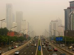Beijing creates hefty gasoline pollution tax to fight massive smog problem ($6/gallon)