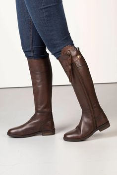 Ladies Tall Leather Boots UK | Slim Fit Knee High Boots | Rydale