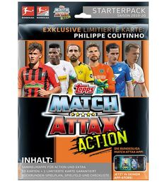 Topps Match Attax EXTRA 2019//20-5 Booster 50 cartes de collection saison 19//20