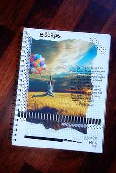 the beauty of an art journal -- truly, anyone can do it. I think there is an artist in all of us :)