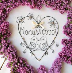 Dekorácie - svadobné srdiečko s perličkami - 8079957_