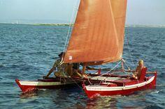 Building a canoe catamaran