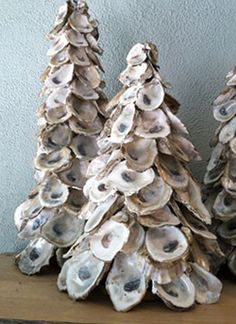 love it! oyster art  Spring Island Journal