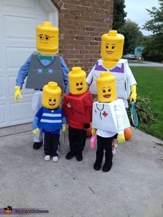 50 fun and creative family costume ideas for this Halloween.
