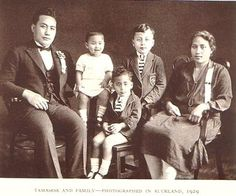 His Royal Highness M. Tamasese and family