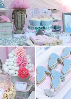 So many amazing details at a Cinderella party!    See more party ideas at CatchMyParty.com!  #partyideas #princess