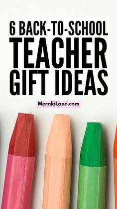 Teacher Appreciation Gifts, Teacher Gifts, Light Colored Nails, Bob Hairstyles For Fine Hair, Back To School Teacher, School Essentials, Summer Activities For Kids, School Organization, Fall Crafts