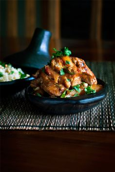 Chicken + Apricot + Ginger + Rosemary Tagine | Flickr - Photo Sharing!