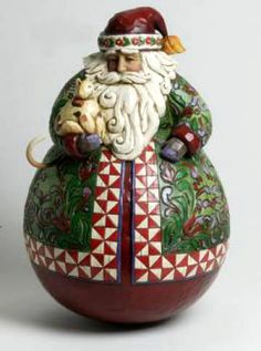 Jim Shore for Enesco Heartwood Creek Santa with Stacked Toys in Bag Figurine 12.25 12.25 Enesco Gift 4047695