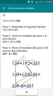 Trucos de Matemáticas: miniatura de captura de pantalla