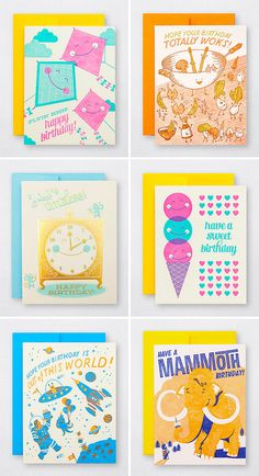 Fun Illustrated Birthday Cards   Hello! Lucky