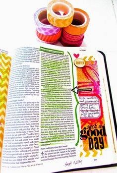 Bible Journaling : Acts 3:12-26 -- Turn To Face God | Bonita Rose