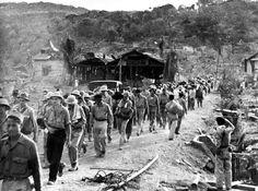 Bataan Death March, Apr. 1942