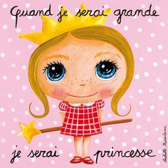 Tableau : Quand je serai grande, je serai princesse Photo Album Scrapbooking, Cartoon Kids, Art School, Art Drawings, Art Projects, Arts And Crafts, Cards, Painting, Fictional Characters