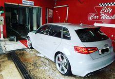 Wash time! For the Nardo Grey Audi RS3 Nardo Grey, Audi Rs3, City Car, Car Engine, Car Wash, A3, Engineering, Technology