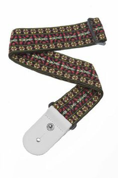 """Planet Waves Woven Guitar Strap, Hootenanny 1 by Planet Waves. $7.07. From the Manufacturer                Join in and play along with this Planet Waves Hootenanny guitar strap on your back.Designed for players of all genres, Planet Waves woven straps offer designs that will please even the most discerning player. From iconic themes to unique patterns and artwork, these durable straps are sure to accent any guitar and are adjustable from 35"""" to 59.5"""" long.Planet Waves, part of..."""