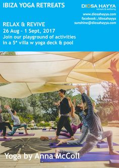 Join us for a seriously fun yoga retreat on the magical island of Ibiza