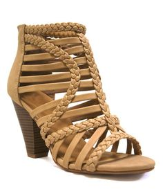 Loving this Natural Lexis Sandal on #zulily! #zulilyfinds