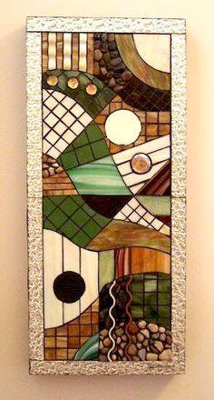 Glass Art - Glass Mosaic Panel - ...Into The Woods  - CIG-mosaic-III. $495.00, via Etsy.
