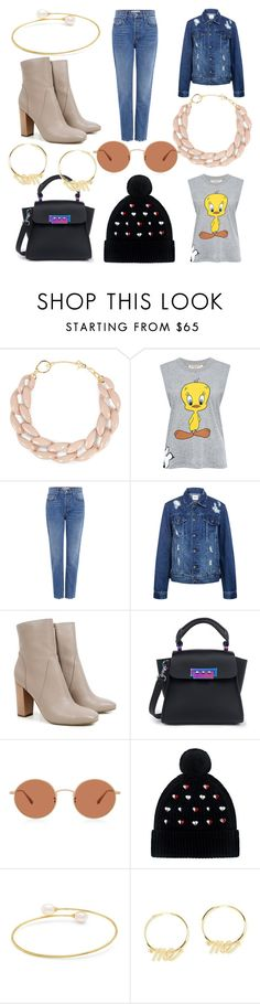 """""""Sem título #1002"""" by leticiahubner ❤ liked on Polyvore featuring DIANA BROUSSARD, Paul & Joe Sister, 10 Crosby Derek Lam, Edit, ZAC Zac Posen, Oliver Peoples, Markus Lupfer and Fallon"""