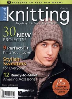Love of Knitting Magazines - This is a paid service