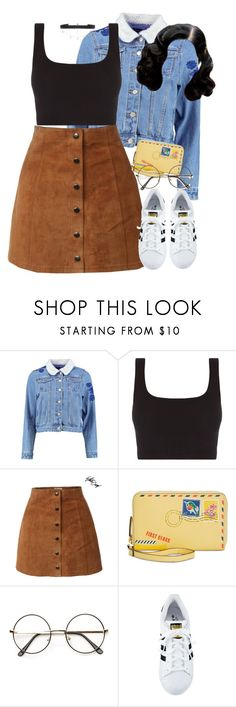 """9:39"" by mcmlxxi ❤ liked on Polyvore featuring Boohoo, Vera Bradley, adidas and Diane Kordas"
