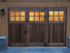 Bi-Folding Doors or Accordian Doors by Real Carriage Door Company
