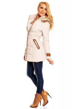 Dámská zimní bunda Coat, Jackets, Fashion, Down Jackets, Moda, Sewing Coat, Fashion Styles, Coats, Jacket