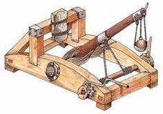 """Résultat de recherche d'images pour """"maquette machine guerre moyen age"""" Catapult, Images, War, Mockup, Searching"""