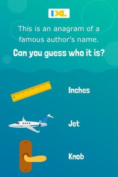 Rearrange the letters in this #WordPuzzle to reveal the name of an author who won both a Pulitzer and a Nobel prize! Science Projects For Kids, New Puzzle, Word Puzzles, Nobel Prize, Brain Teasers, Online Art, Language Arts, Cool Words, Writer