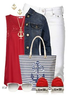 """""""Nautical"""" by colierollers ❤ liked on Polyvore featuring True Religion, ONLY, Blue Nile, Fat Face, C. Wonder, Converse, Sperry Top-Sider and Sheriff&Cherry"""