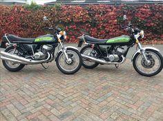 1974 Kawasaki 750 H2B and 1973 Kawasaki 500 H1E- collection complete!