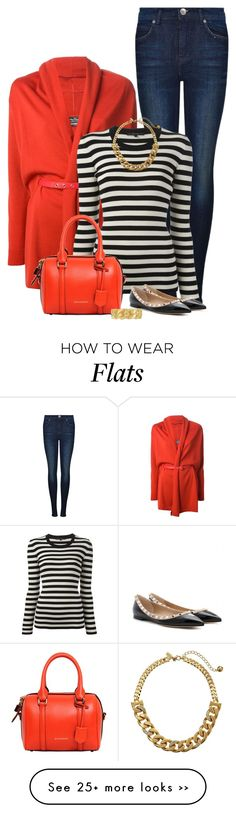 """""""Two Tone flats"""" by ginga1203 on Polyvore"""