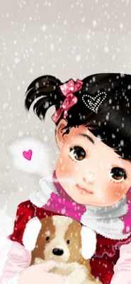 Glitter Graphics: the community for graphics enthusiasts! Children's Book Illustration, Illustrations, Cute Images, Images Gif, Gifs, Adorable Petite Fille, Cute Happy Birthday, Sarah Kay, Bratz Doll