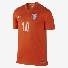 2014 Netherlands Stadium (Sneijder) Men's Soccer Jersey. Nike Store Soccer Jerseys, Soccer Shirts, Nike Store, Sport Wear, Netherlands, Polo Ralph Lauren, Football, Awesome, Clothing
