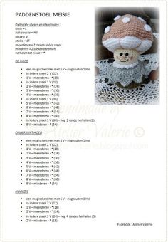 Kawaii Crochet, Crochet Daisy, Crochet Flowers, Crochet Doll Pattern, Crochet Patterns, Crochet Crafts, Crochet Projects, Round Robin, Crochet Hair Accessories