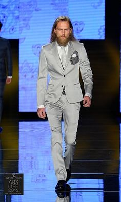 100% made in Italy men's suits from the collections of Cleofe Finati by Archetipo 2016