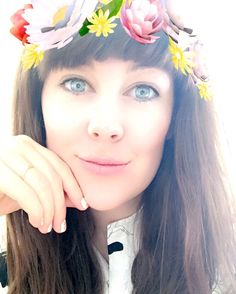 So despite initially saying I'm too old for it (and maybe I am just don't tell me ok? ) I've actually really gotten into snapchat lately. If you're on it you can find me under the same name - mainly for videos of my kids as puppies  now if I could just have this glow about me in real life thanks